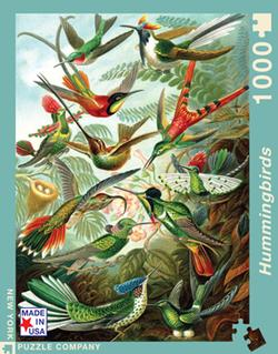 Hummingbirds Nostalgic / Retro Jigsaw Puzzle