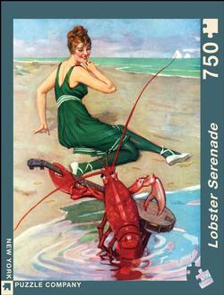 Lobster Serenade Nostalgic / Retro Jigsaw Puzzle