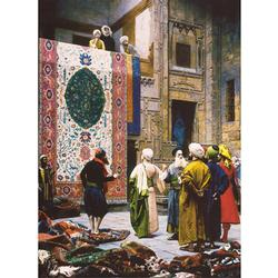 Carpet Seller Cultural Art Jigsaw Puzzle