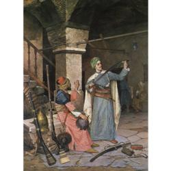 Weapon Seller Nostalgic / Retro Jigsaw Puzzle