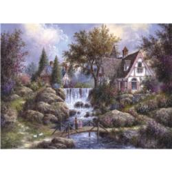 Angel Falls Lakes / Rivers / Streams Jigsaw Puzzle