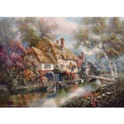 Stonewall Cottage Countryside Jigsaw Puzzle