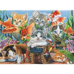 Gone Fishing Fish Jigsaw Puzzle