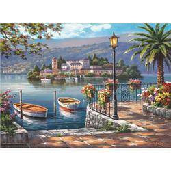 Seaside Port Boats Jigsaw Puzzle