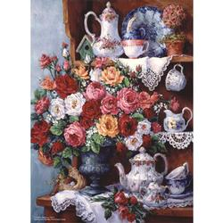 Family Treasure Flowers Jigsaw Puzzle