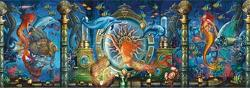 Oceana Triptych Mermaids Jigsaw Puzzle