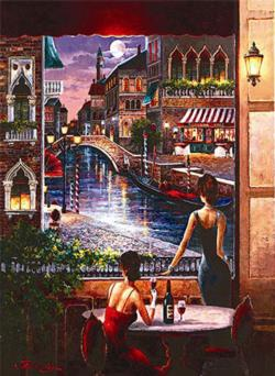 Waiting for Love Valentine's Day Jigsaw Puzzle