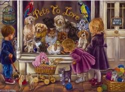 Pets to Love Everyday Objects Jigsaw Puzzle
