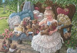 Holly's Bears Valentine's Day Jigsaw Puzzle