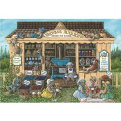 Bessy Bear's Country Store General Store Jigsaw Puzzle