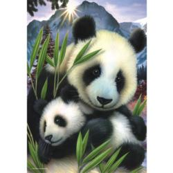 Panda Baby Animals Jigsaw Puzzle