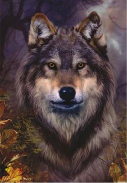 Wolf Fall Jigsaw Puzzle