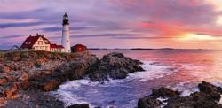 Lighthouse at Portland Head United States Jigsaw Puzzle