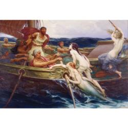 Ulysses and the Sirens Mythology Jigsaw Puzzle