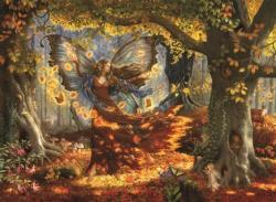 Woodland Fairy Fairies Jigsaw Puzzle