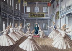 Whirling Dervishes Dance Jigsaw Puzzle