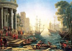 Seaport with the Embarkati Europe Jigsaw Puzzle