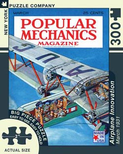 Airplane Innovation (Popular Mechanics) Magazines and Newspapers Large Piece