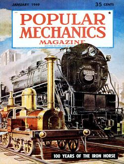 The Iron Horse (Popular Mechanics) Trains Jigsaw Puzzle