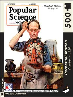 Perpetual Motion (Popular Science) Magazines and Newspapers Jigsaw Puzzle