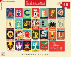 Alphabet Educational Jigsaw Puzzle