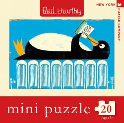Winter Reads (Mini) Library / Literary Miniature Puzzle