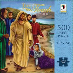 The Touch (Matthew 9:20-22) African American Jigsaw Puzzle