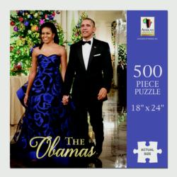 The Obamas Famous People Jigsaw Puzzle