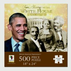 From Slavery to the White House African American Jigsaw Puzzle