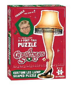 A Christmas Story Leg Lamp Puzzle Movies / Books / TV Jigsaw Puzzle