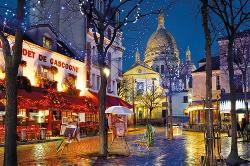 Paris - Montmartre Paris Jigsaw Puzzle