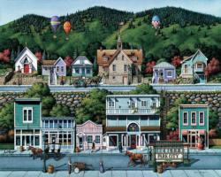 Park City Americana & Folk Art Jigsaw Puzzle