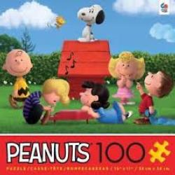 Ceaco Peanuts Family Jigsaw Puzzle