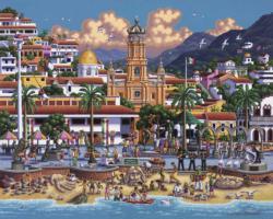 Puerto Vallarta Folk Art Jigsaw Puzzle