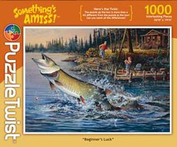 Beginner's Luck Fishing Jigsaw Puzzle