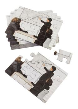 12pc Custom Photo Postcard Puzzle Custom Jigsaw Puzzle