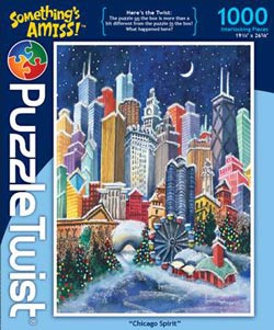 Chicago Spirit Christmas Jigsaw Puzzle
