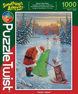 Santa's Game Christmas Jigsaw Puzzle