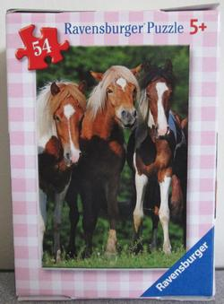 Horses 8 (Mini) Horses Children's Puzzles