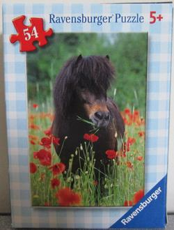 Horses 4 (Mini) Horses Children's Puzzles