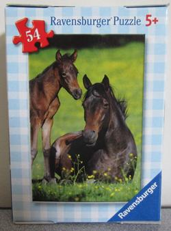 Horses 1 (Mini) Horses Children's Puzzles