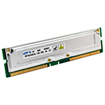 128MB RDRAM PC-800 Non-ECC Unbuffered 184 Pin 2.5V 45NS Memory