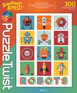 Robots Winter Jigsaw Puzzle