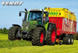 Fendt Tractor Photography Jigsaw Puzzle
