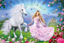 The Unicorn Princess Unicorns Jigsaw Puzzle