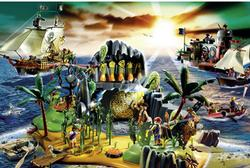 Playmobil Pirate Island Pirates Jigsaw Puzzle