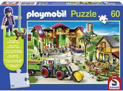 Playmobil On the Farm Farm Jigsaw Puzzle