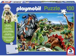In Dino Country (Playmobil) Children's Games Jigsaw Puzzle