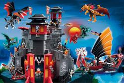 Asian Dragon World (Playmobil) Fantasy Jigsaw Puzzle