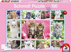Kittens Collage Children's Puzzles